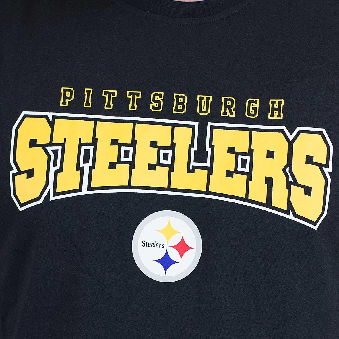 6999a3683 ☆ New Era T-Shirt NFL Ultra Fan Pittsburgh Steelers schwarz - hier ...