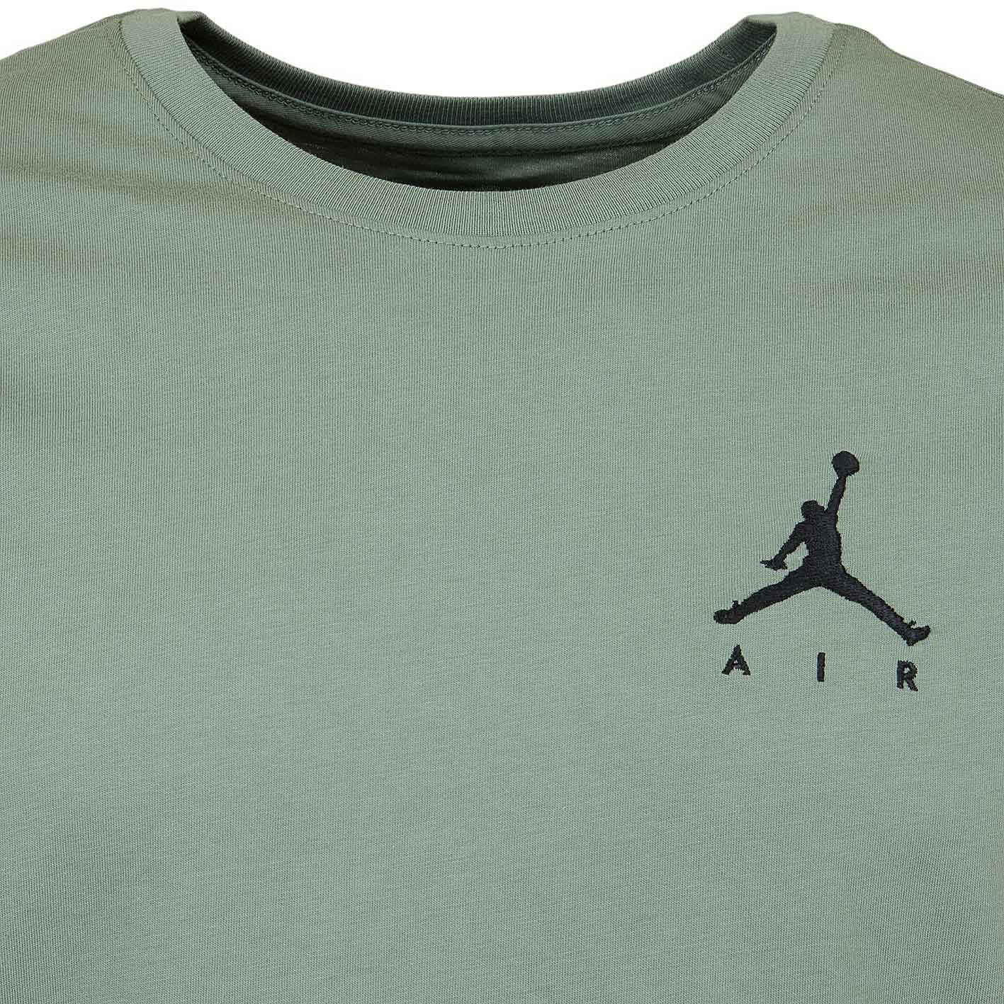 quality design 2b475 2c89a Nike T-Shirt Jordan Jumpman Air Embroidered grün schwarz