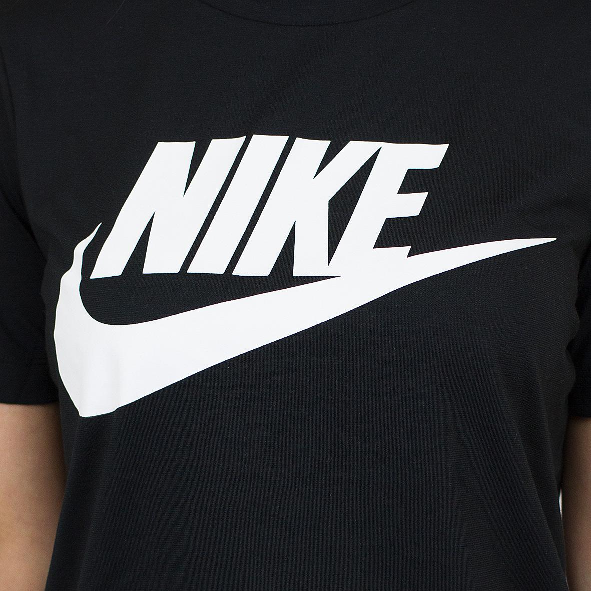 f57b44cf Nike Damen T-Shirt Essential schwarz/weiß