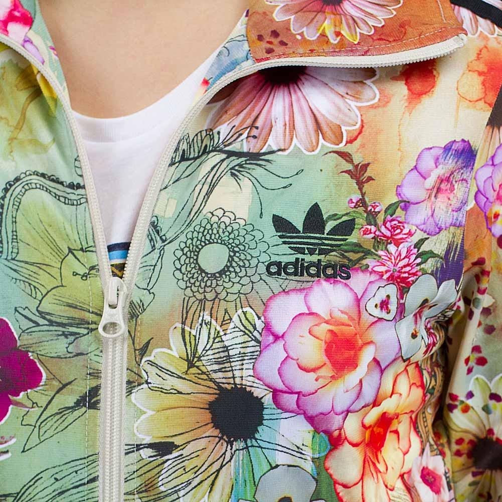 Adidas jacke damen floral