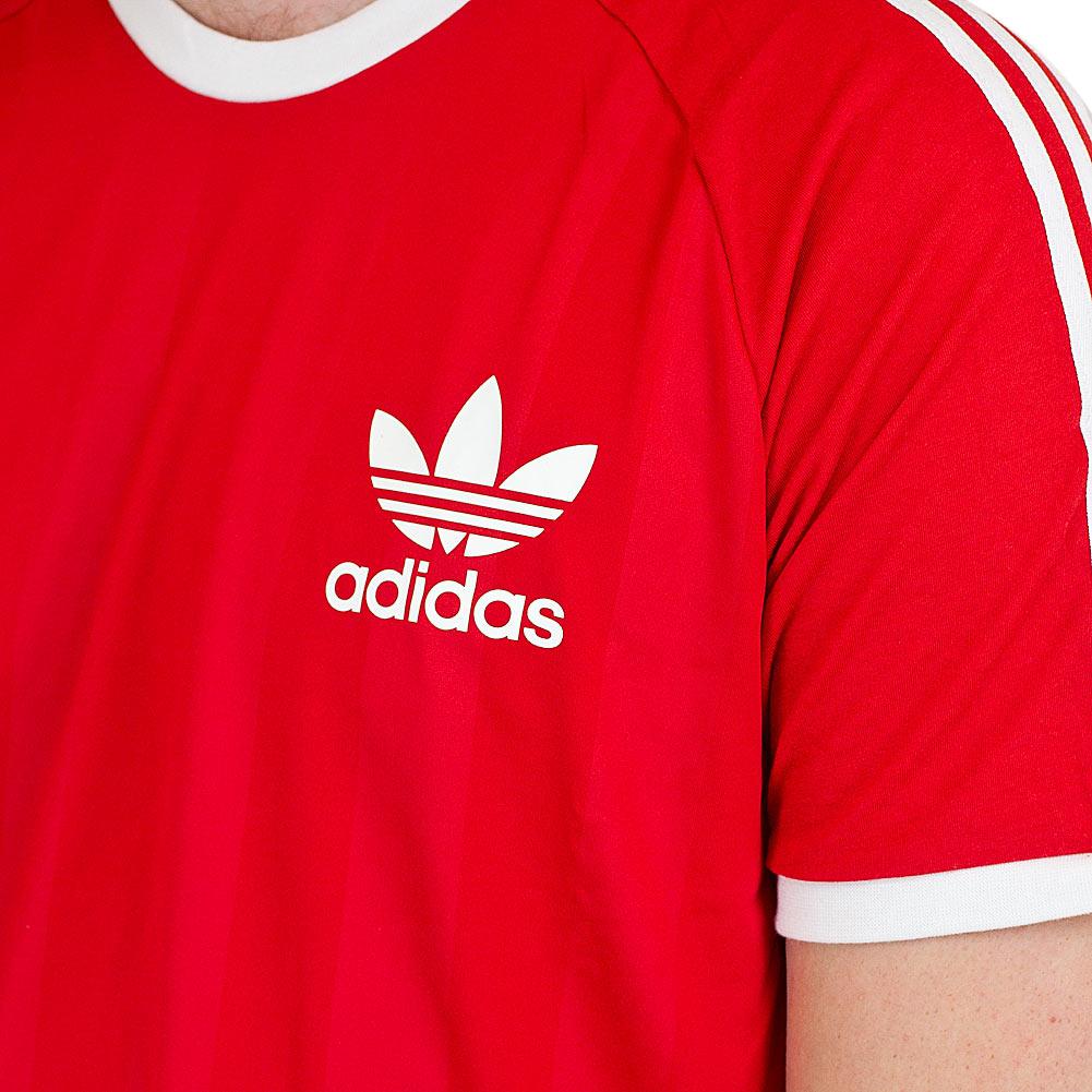 adidas Originals – SST – Rotes Sweatshirt mit