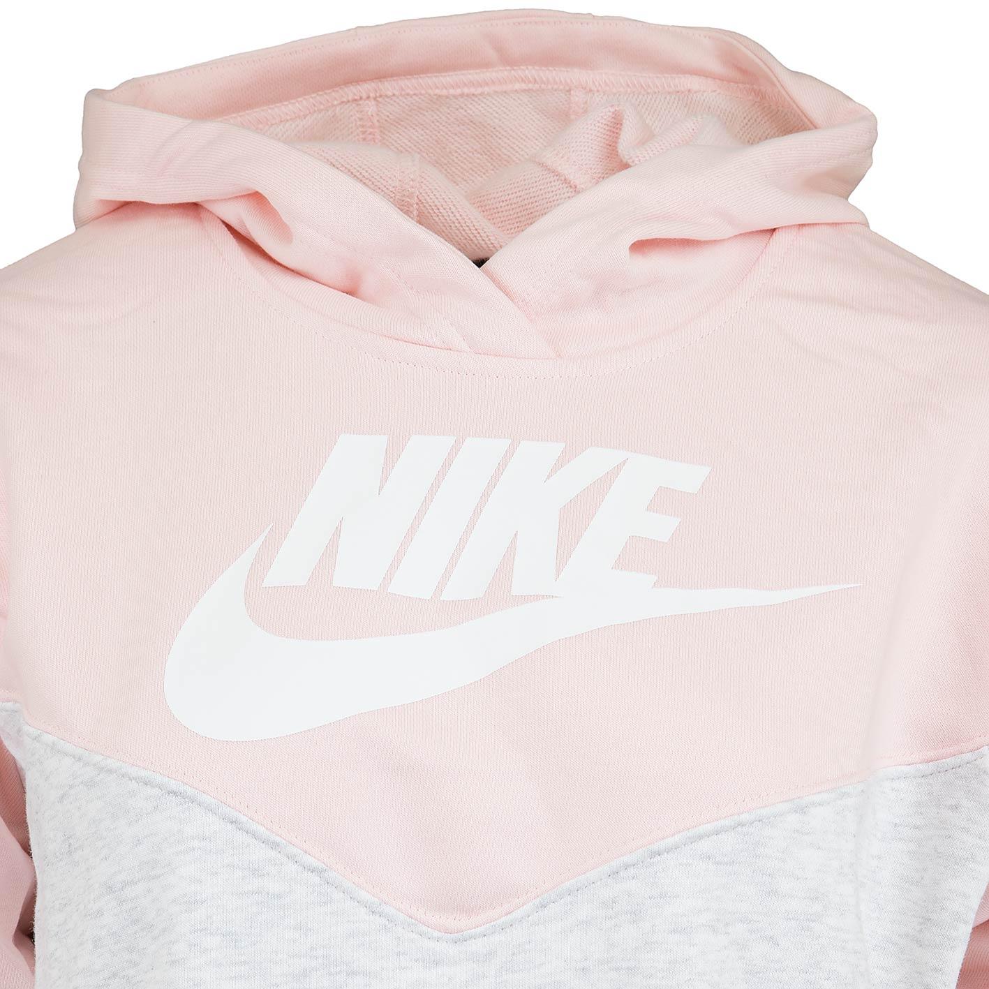 Nike Kleid Heritage Hood grau/rosa - hier bestellen!