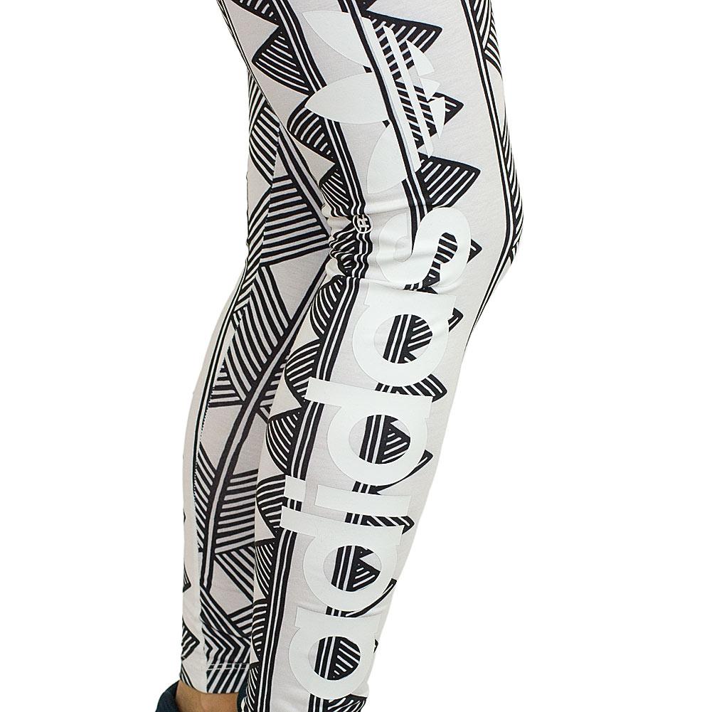 adidas originals leggings mexkumerex trefoil wei schwarz hier bestellen. Black Bedroom Furniture Sets. Home Design Ideas