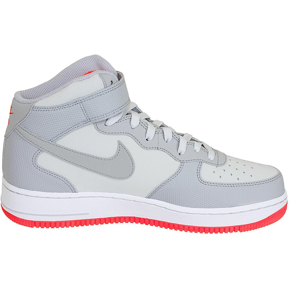 Nike Air Force Grau Rot