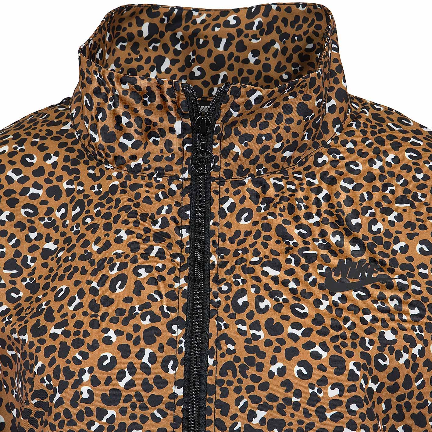 Nike Damen Trainingsjacke Jacke Animal Woven braunschwarz