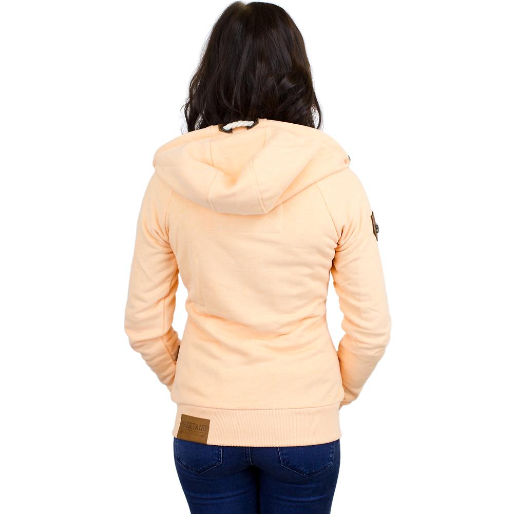 naketano damen zip hoodie blonder engel apricot hier bestellen. Black Bedroom Furniture Sets. Home Design Ideas