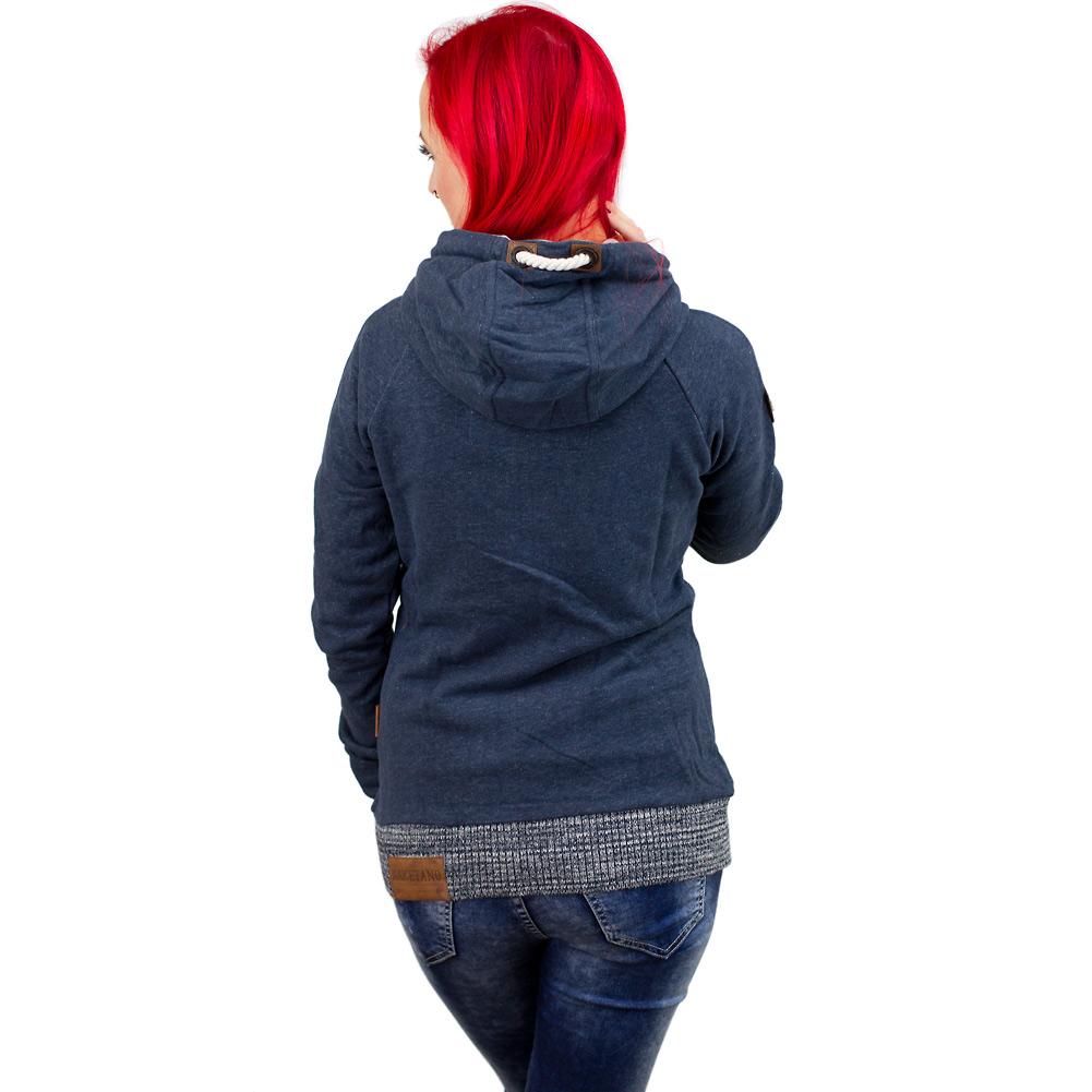 naketano damen zip hoodie pommes spezial iii dunkelblau. Black Bedroom Furniture Sets. Home Design Ideas