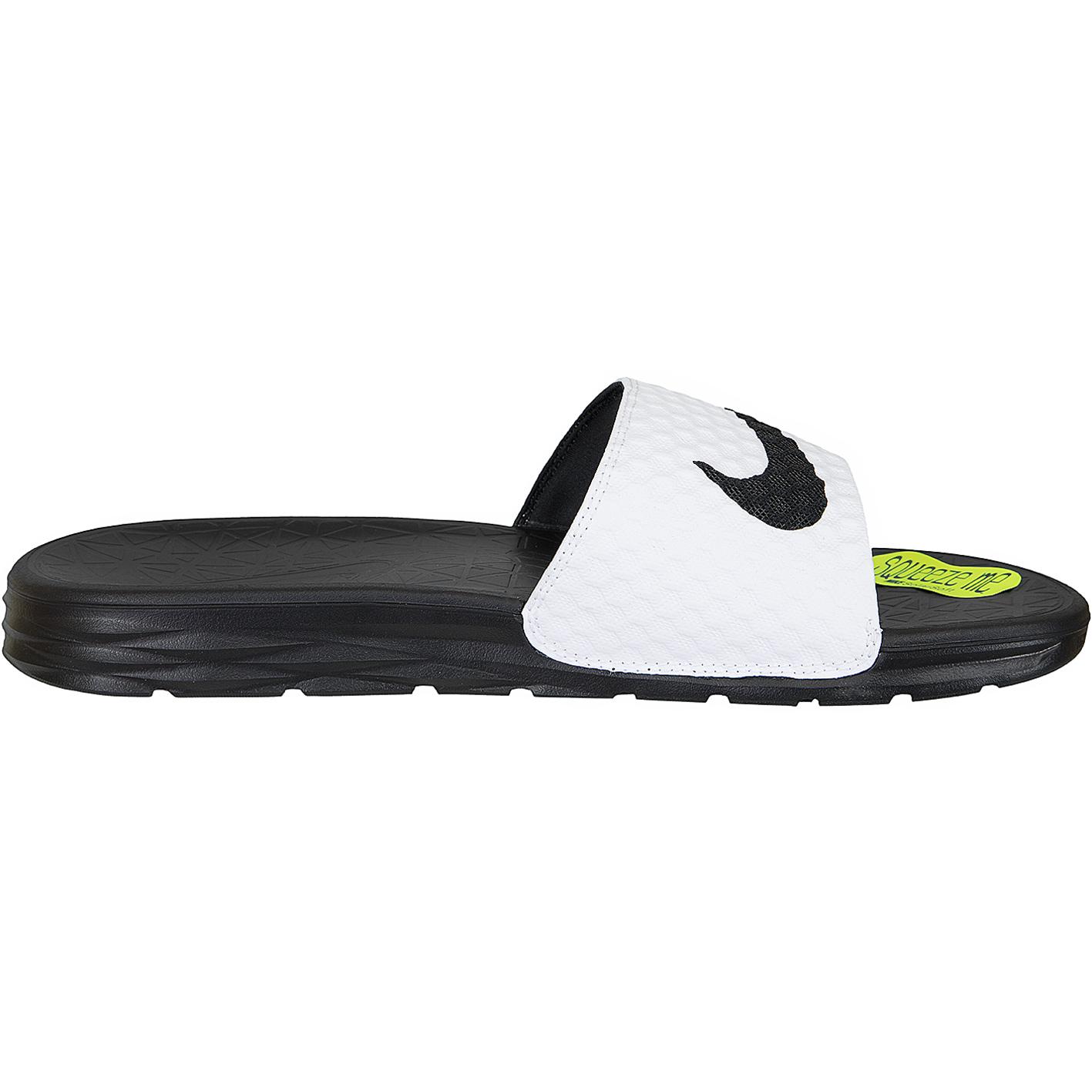 78e9a4f0a90cd1 ☆ Nike Sandalen Benassi Solarsoft 2 weiß schwarz - hier bestellen!