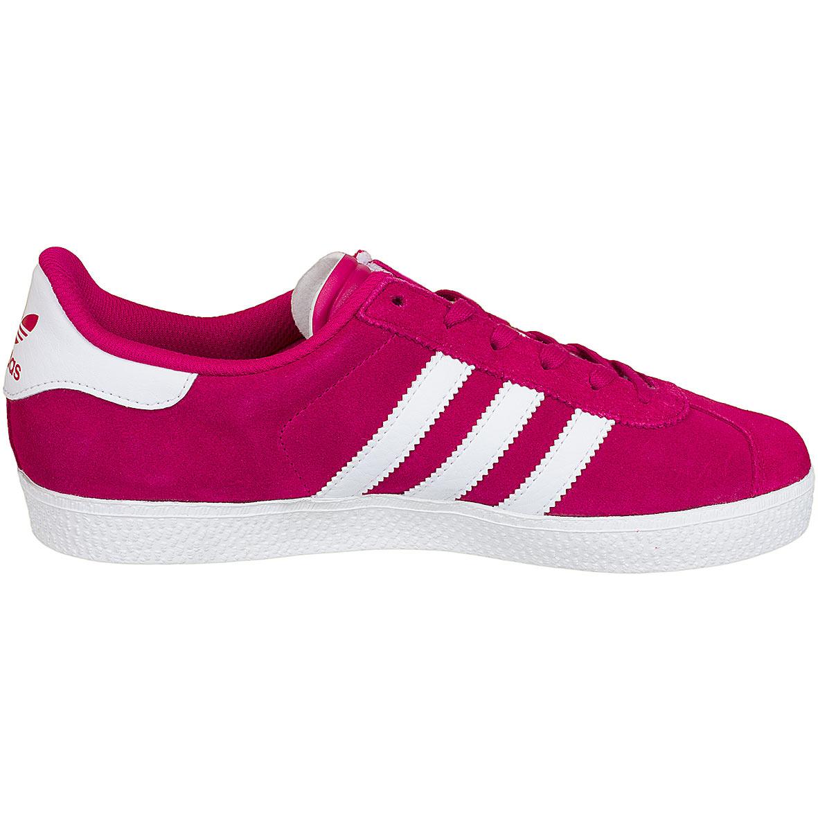 adidas originals damen sneaker gazelle 2 j w pink wei. Black Bedroom Furniture Sets. Home Design Ideas