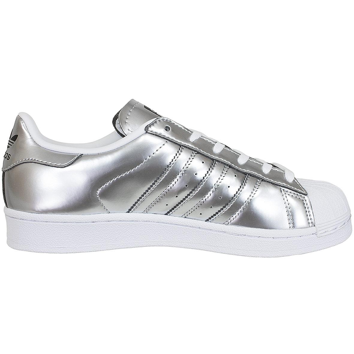 silberne adidas superstar