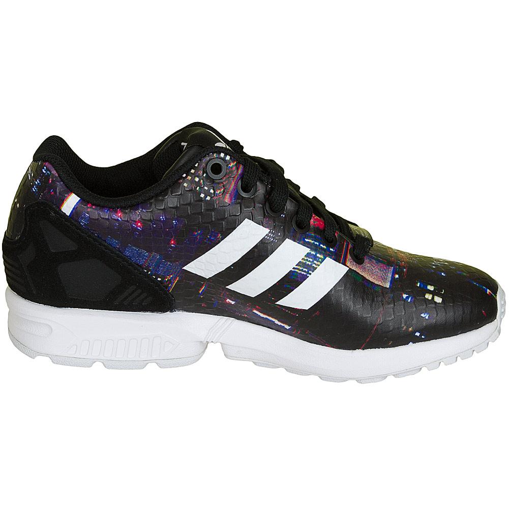adidas zx flux damen schwarz weiß