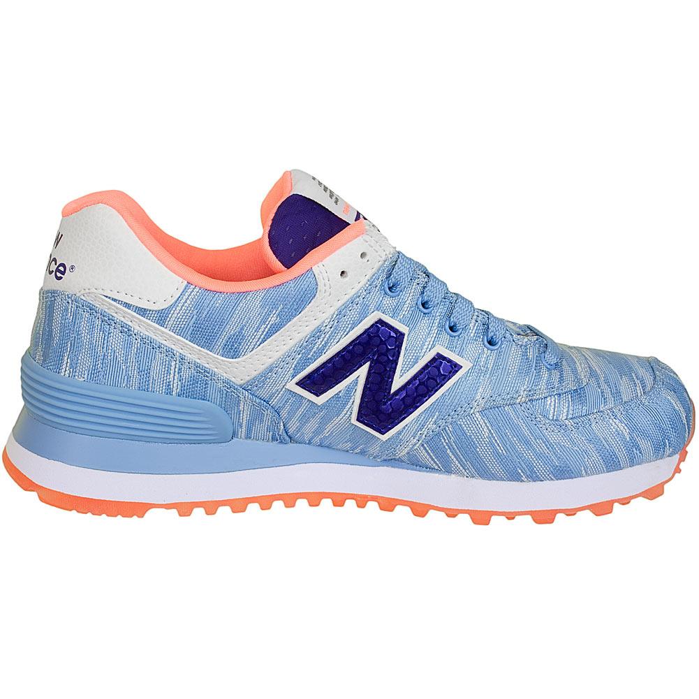 new balance damen sneaker 574 blau