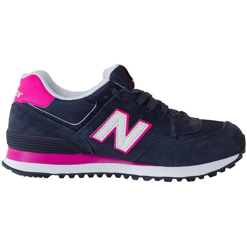 new balance 574 damen blau pink