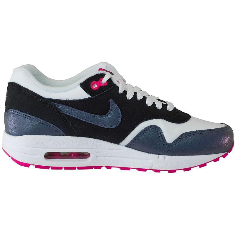 Nike Air Max 1 Grau Lila Pink