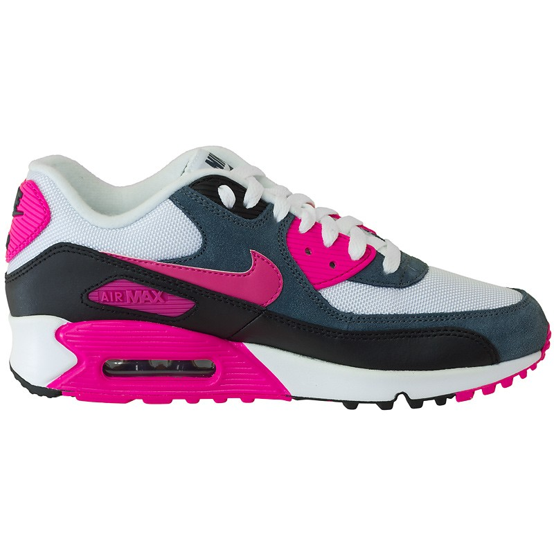 sneaker nike wmns air max 90 essential white pink hier. Black Bedroom Furniture Sets. Home Design Ideas