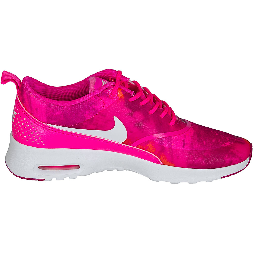 Nike Air Max Thea Grau Pink Weiß