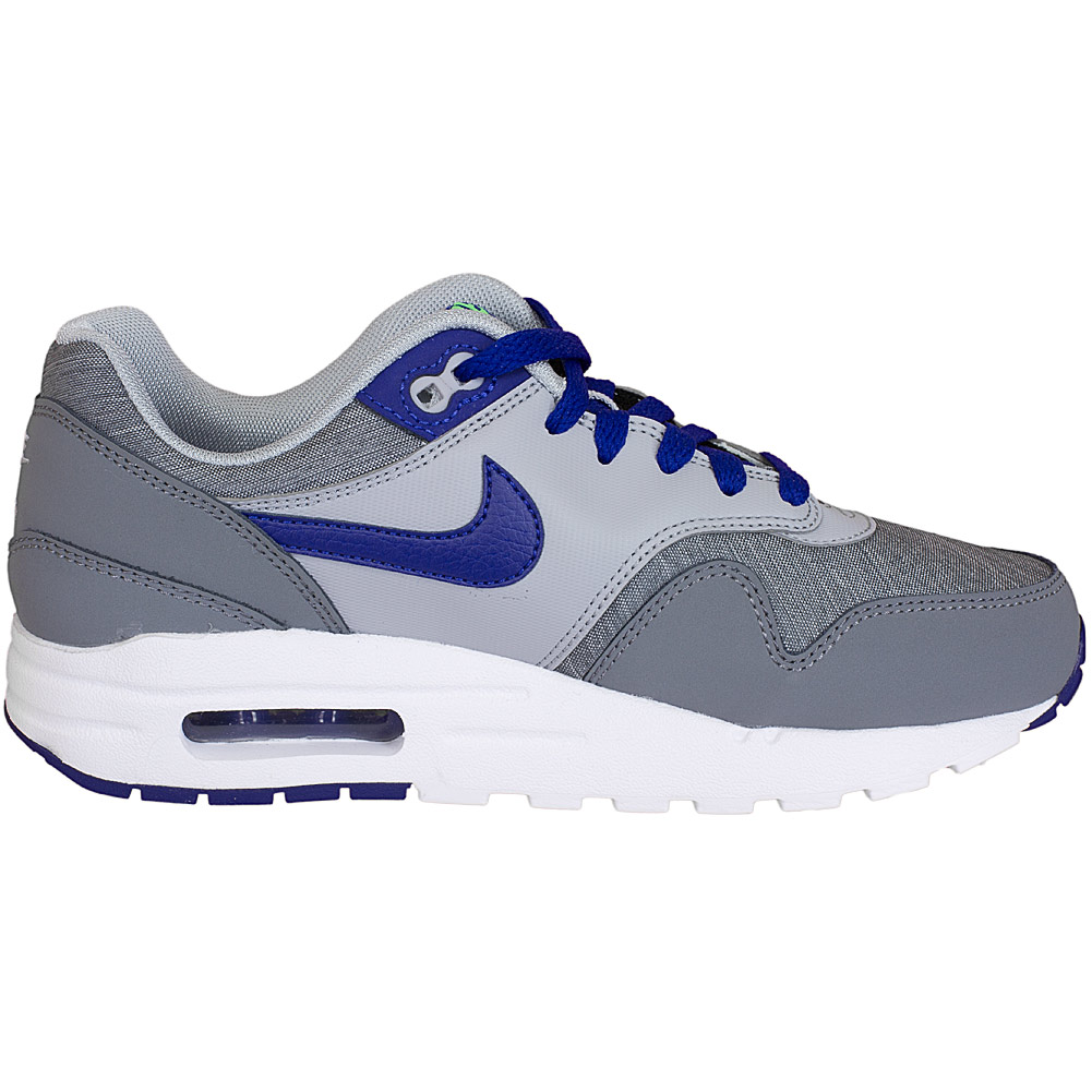 nike damen sneaker air max 1 grau blau hier bestellen. Black Bedroom Furniture Sets. Home Design Ideas