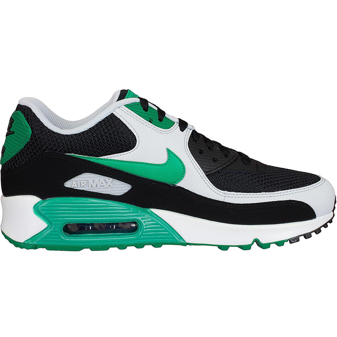 nike air max 90 essential schwarz grün weiß