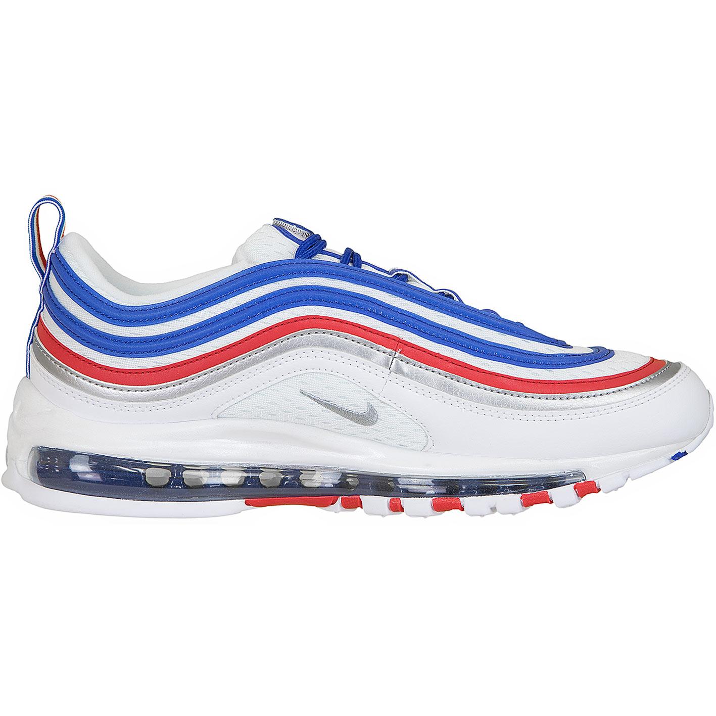 outlet store f9e0c 3fd8a Nike Sneaker Air Max 97 weiß blau rot