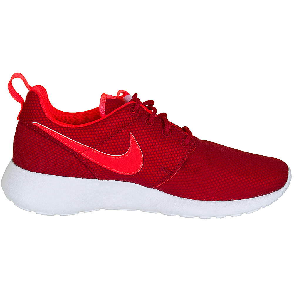 Nike Roshe Run Damen Rot Weiß