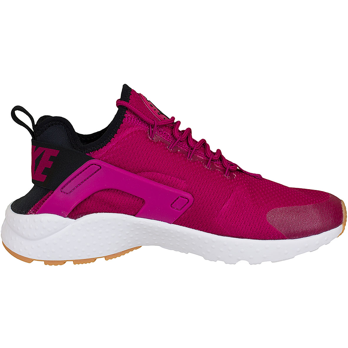 nike damen sneaker air huarache run ultra fuchsia schwarz. Black Bedroom Furniture Sets. Home Design Ideas