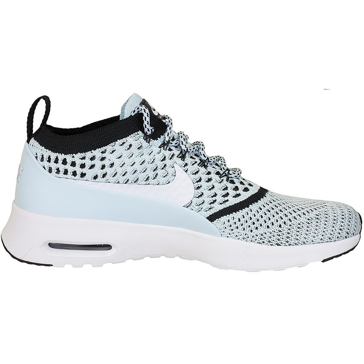 best website 8c2ec 0df7e Nike Damen Sneaker Air Max Thea Ultra Flyknit blauweiß