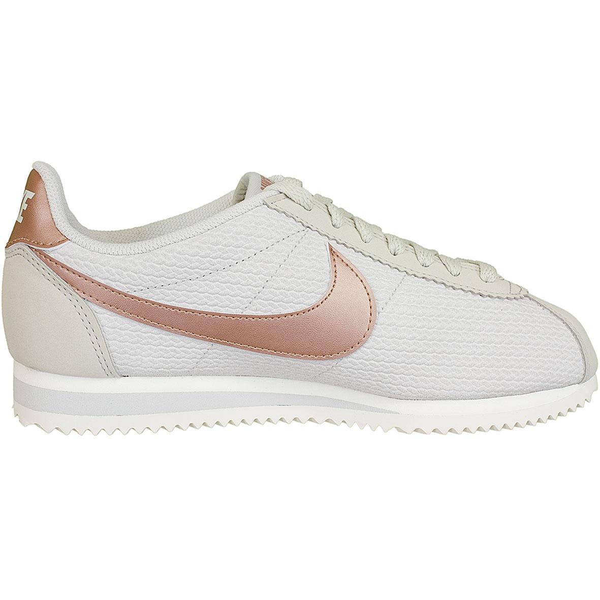 the best attitude 58a55 efcd0 Nike Damen Sneaker Classic Cortez Leather Lux beigebronze