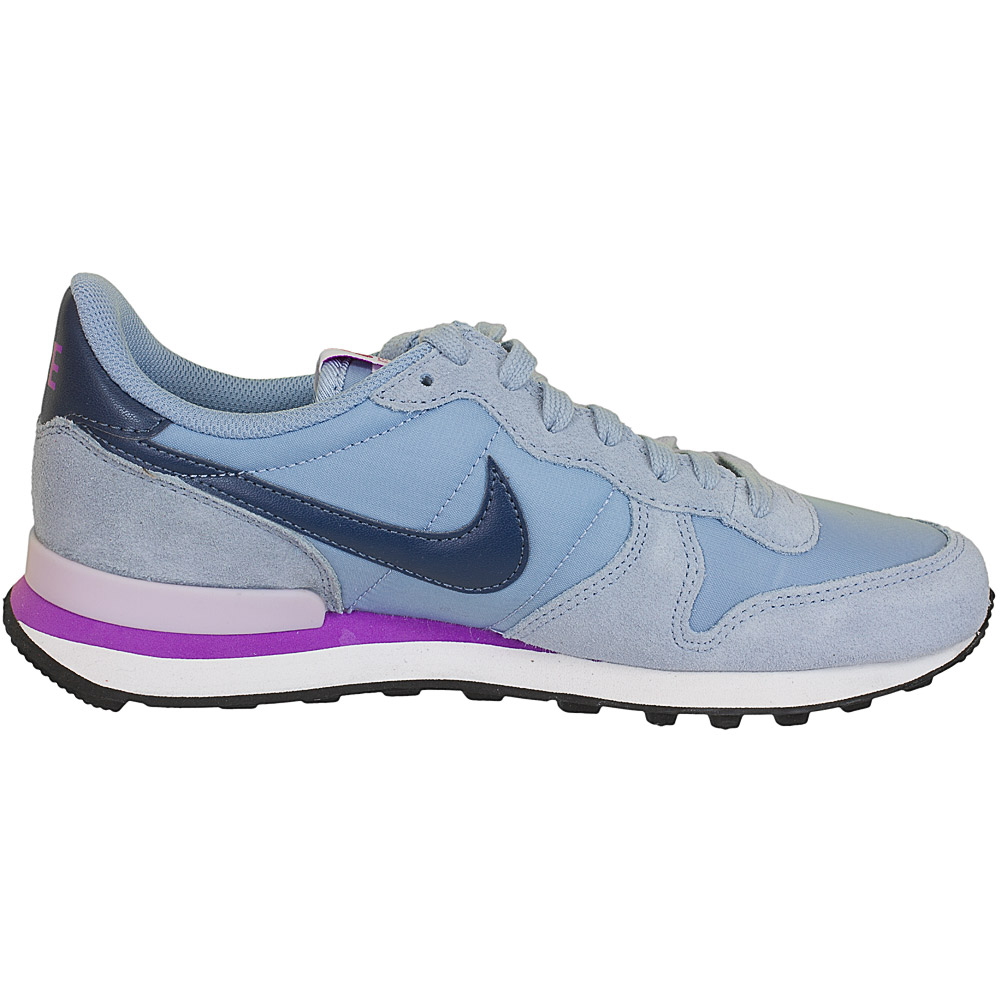 nike damen sneaker internationalist grau blau hier. Black Bedroom Furniture Sets. Home Design Ideas