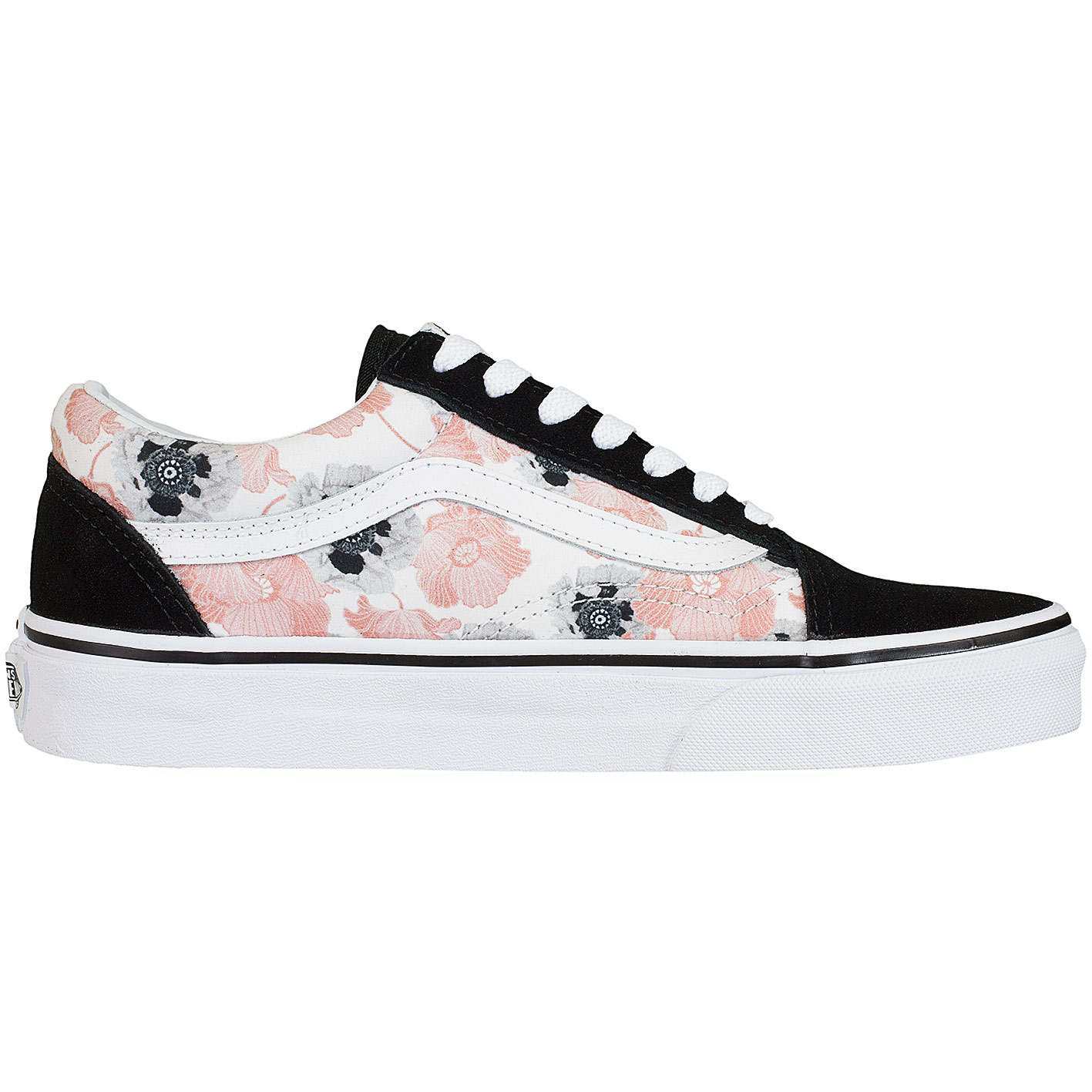 vans damen old skool blumen