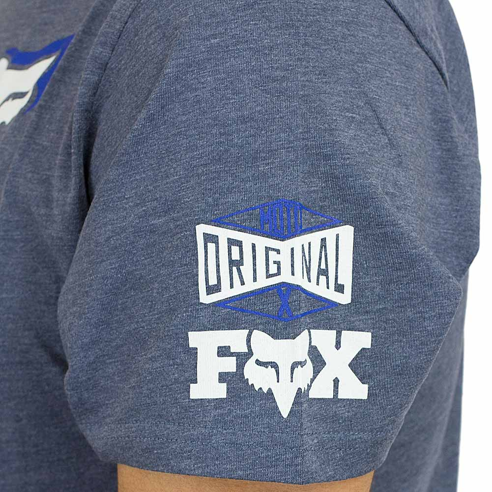 Fox T-Shirt Team Fox pewtern hellblau