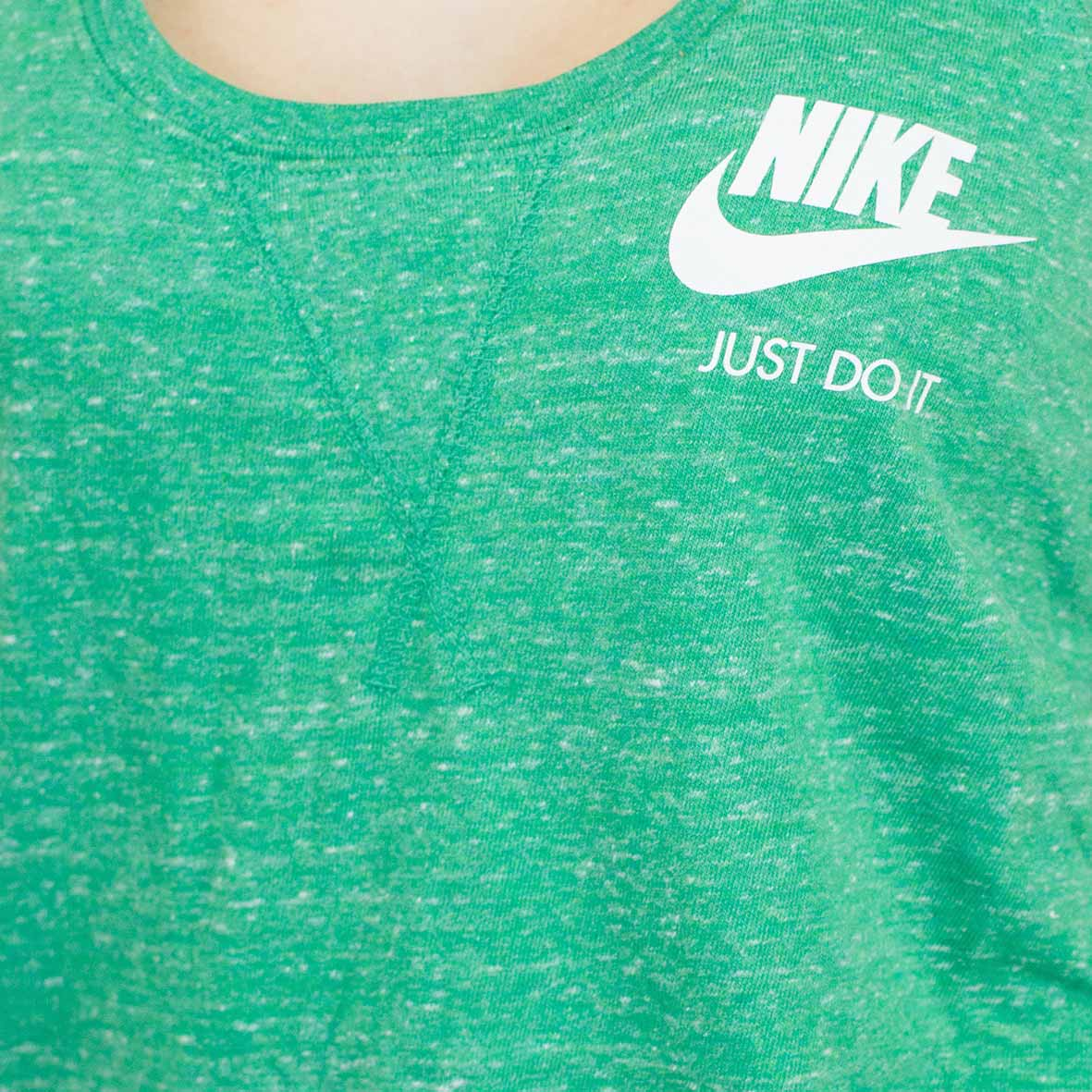 nike shirt grün damen