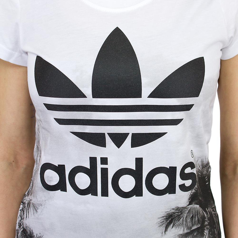 adidas t-shirt damen schwarz weiß