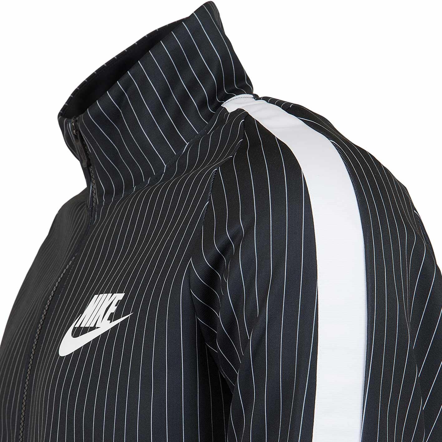 Nike Trainingsjacke GFX schwarzweiß