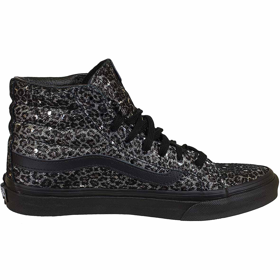 vans damen schwarz high