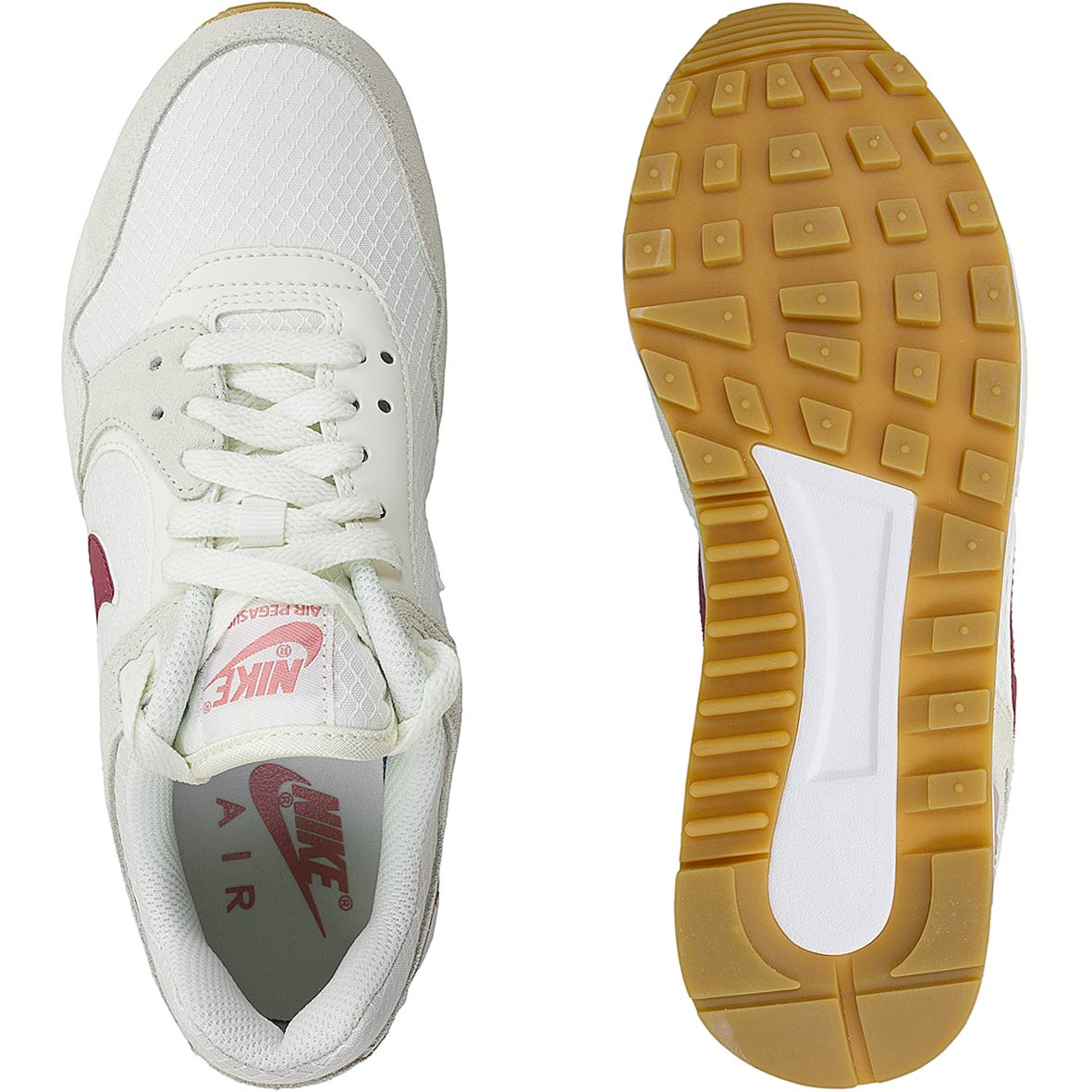 more photos 87afe 86073 Nike Damen Sneaker Air Pegasus ´89 beigerot