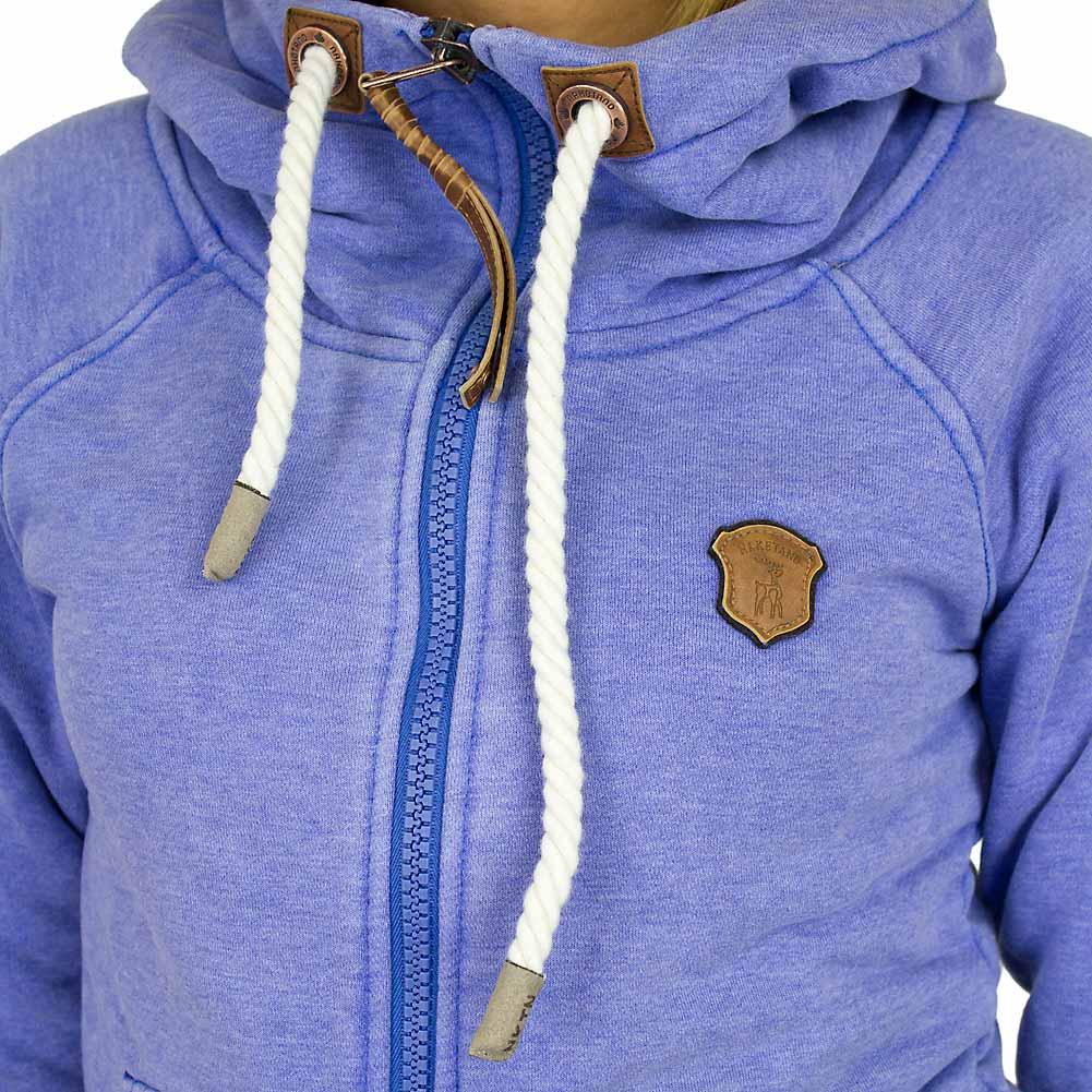 naketano brazzo roots damen zip hoody lecker blau hier bestellen. Black Bedroom Furniture Sets. Home Design Ideas