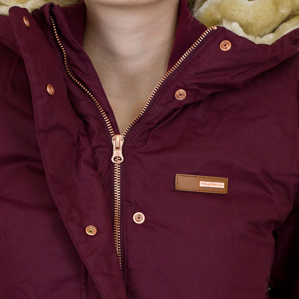 superior quality ad79a 00223 ☆ Mazine Damen Winterjacke Kimberley bordeaux - hier bestellen!