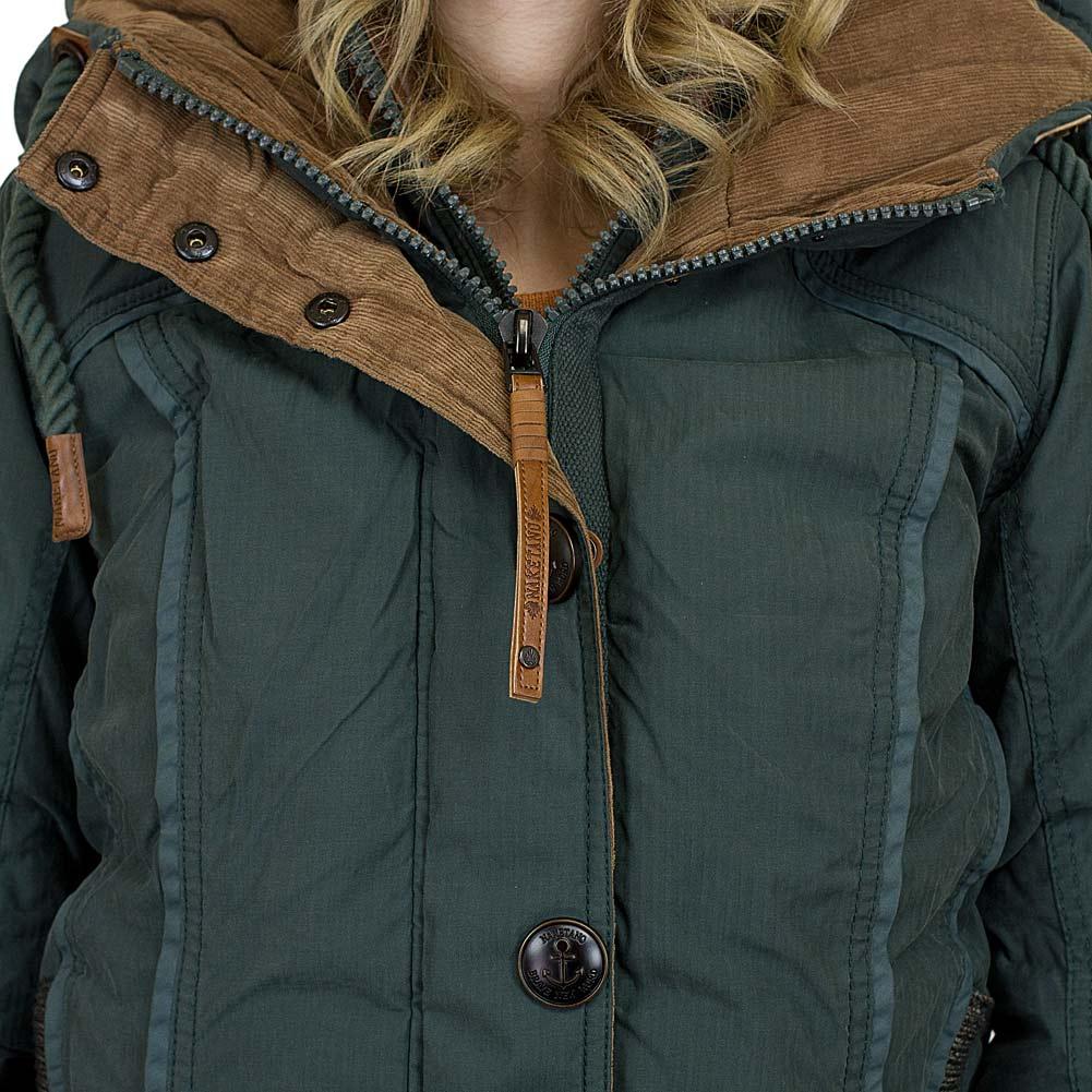☆ Naketano Damen Jacke Shortcut III dunkelgrün - hier bestellen! a77b738dbb