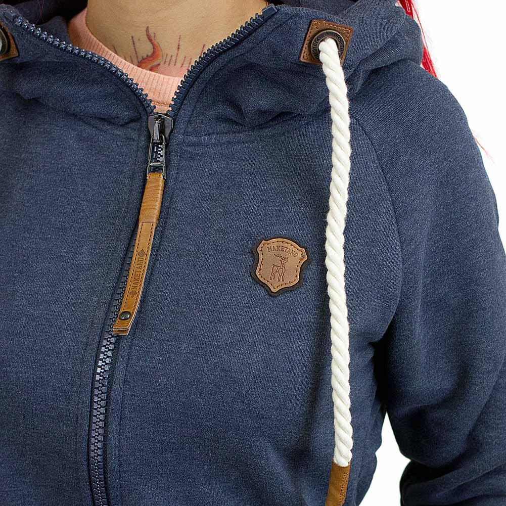 naketano damen zip hoodie blonder engel dunkelblau hier. Black Bedroom Furniture Sets. Home Design Ideas