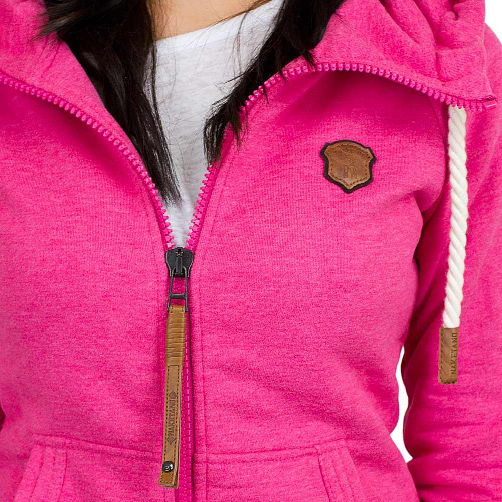 naketano damen zip hoodie brazzo vi pink hier bestellen. Black Bedroom Furniture Sets. Home Design Ideas