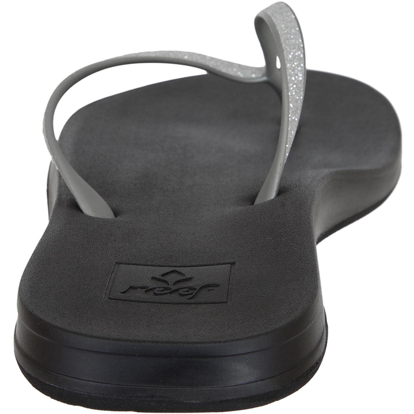 sports shoes 40cf7 5aacc Reef Damen Flip Flop Cushion Bounce Stargazer silver