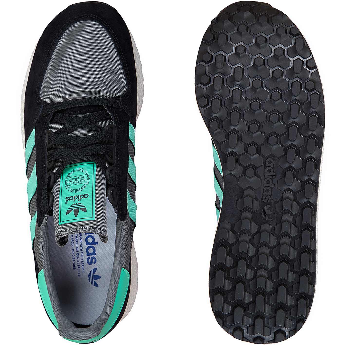 Adidas Originals Sneaker Forest Grove schwarztürkis
