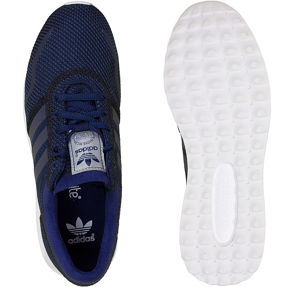 adidas originals damen sneaker los angeles dunkelblau. Black Bedroom Furniture Sets. Home Design Ideas