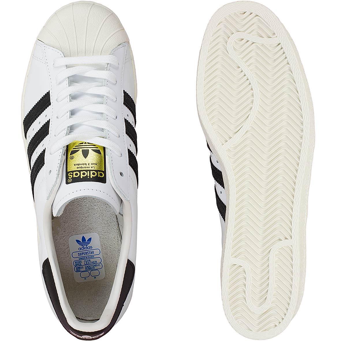 100% authentic 22e43 6a1a7 Adidas Originals Sneaker Superstar 80s weiß schwarz
