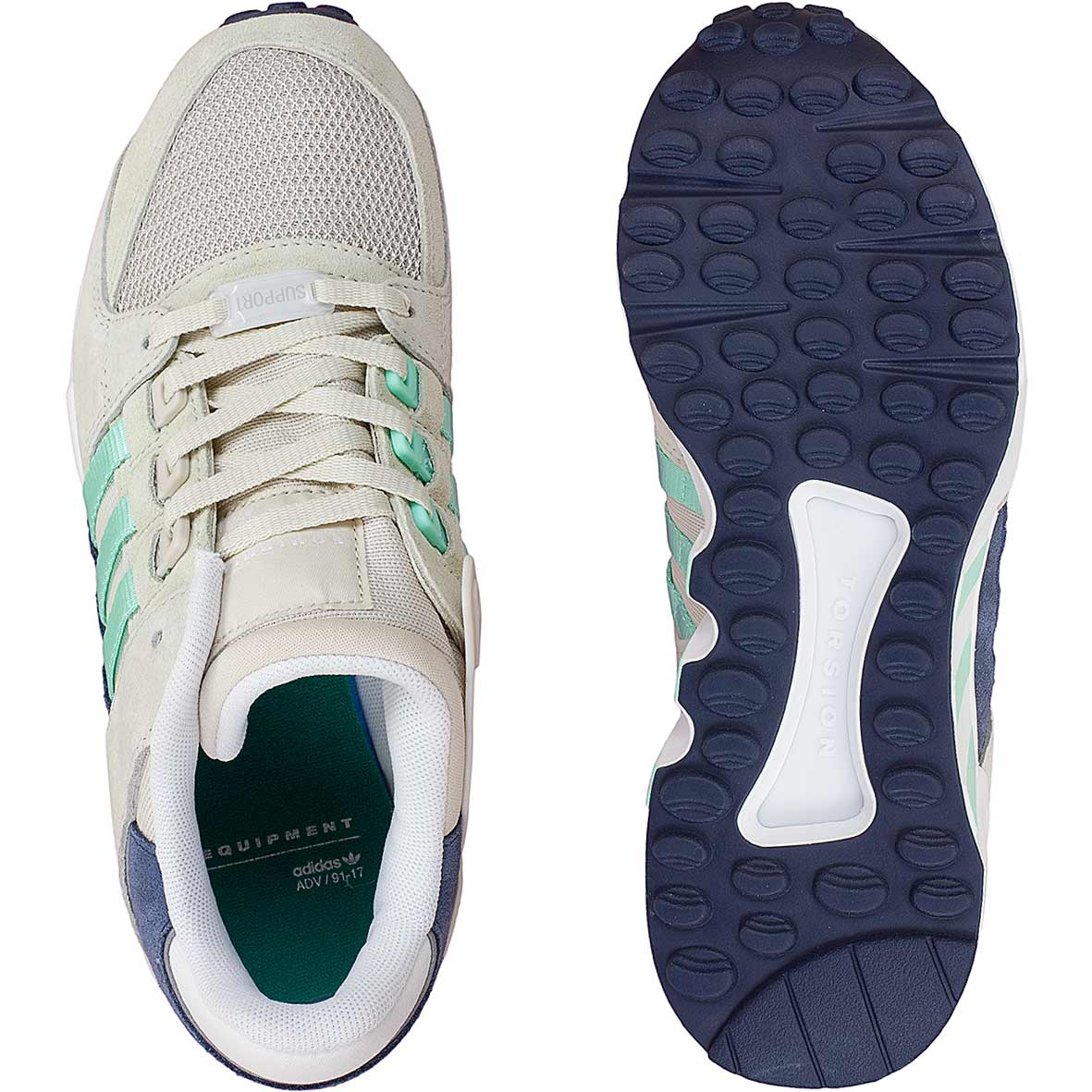 Adidas Originals Damen Sneaker Equipment Support RF braungrün