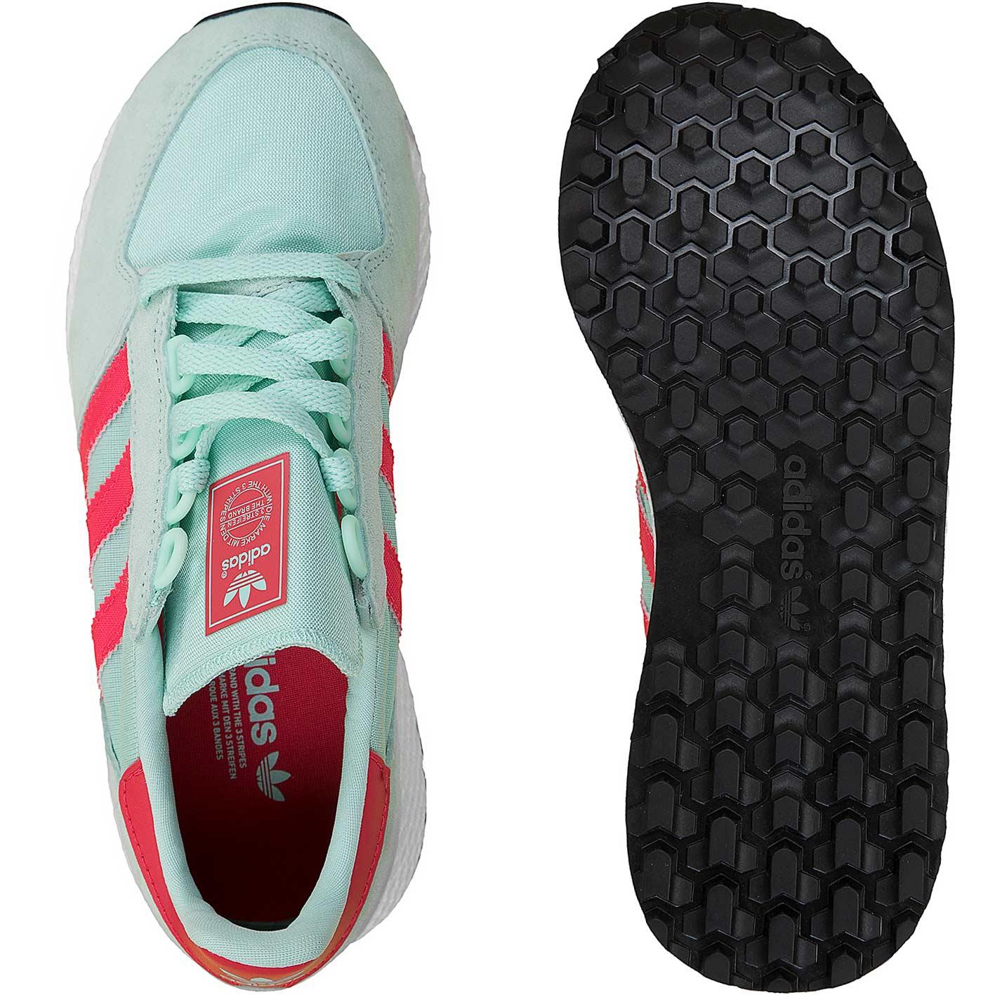 ADIDAS Originals - Sneaker 'Forest Grove' aus Veloursleder - Flieder