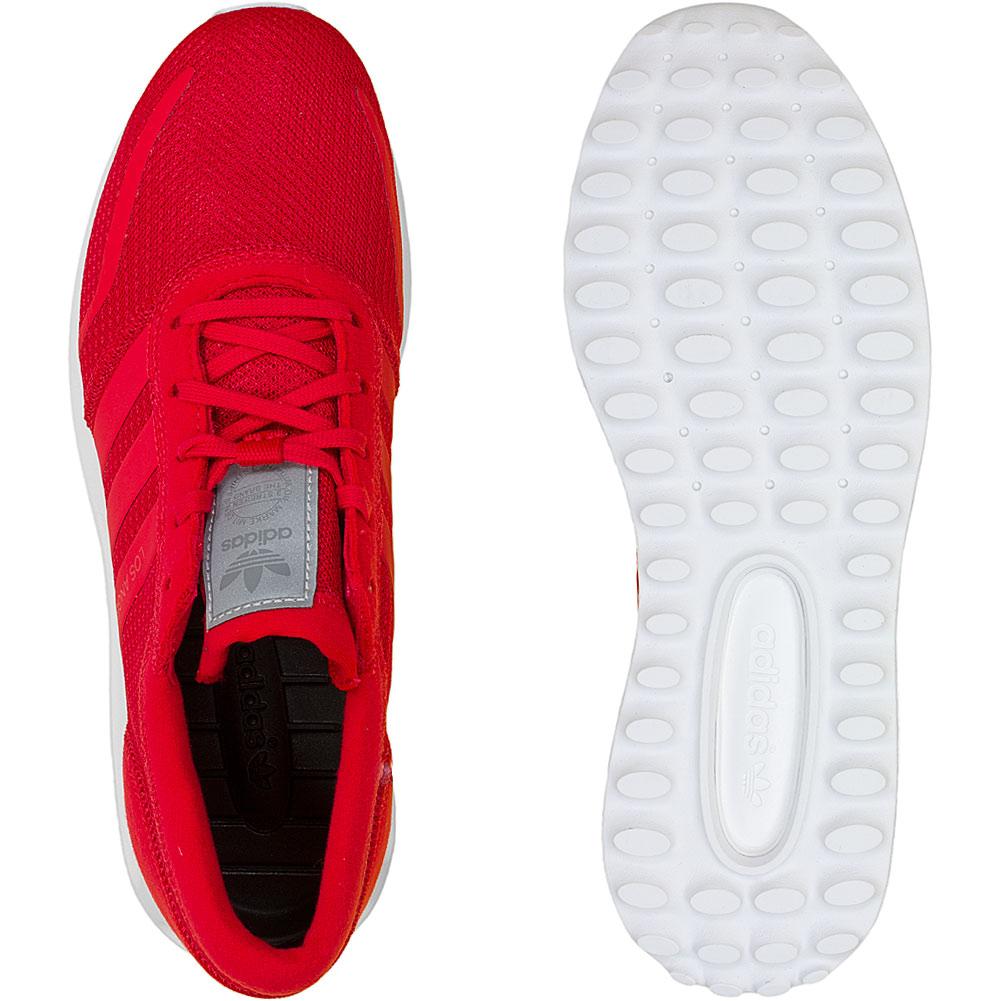 6ec15bc4212566 ☆ Adidas Originals Damen Sneaker Los Angeles rot weiß - hier bestellen!