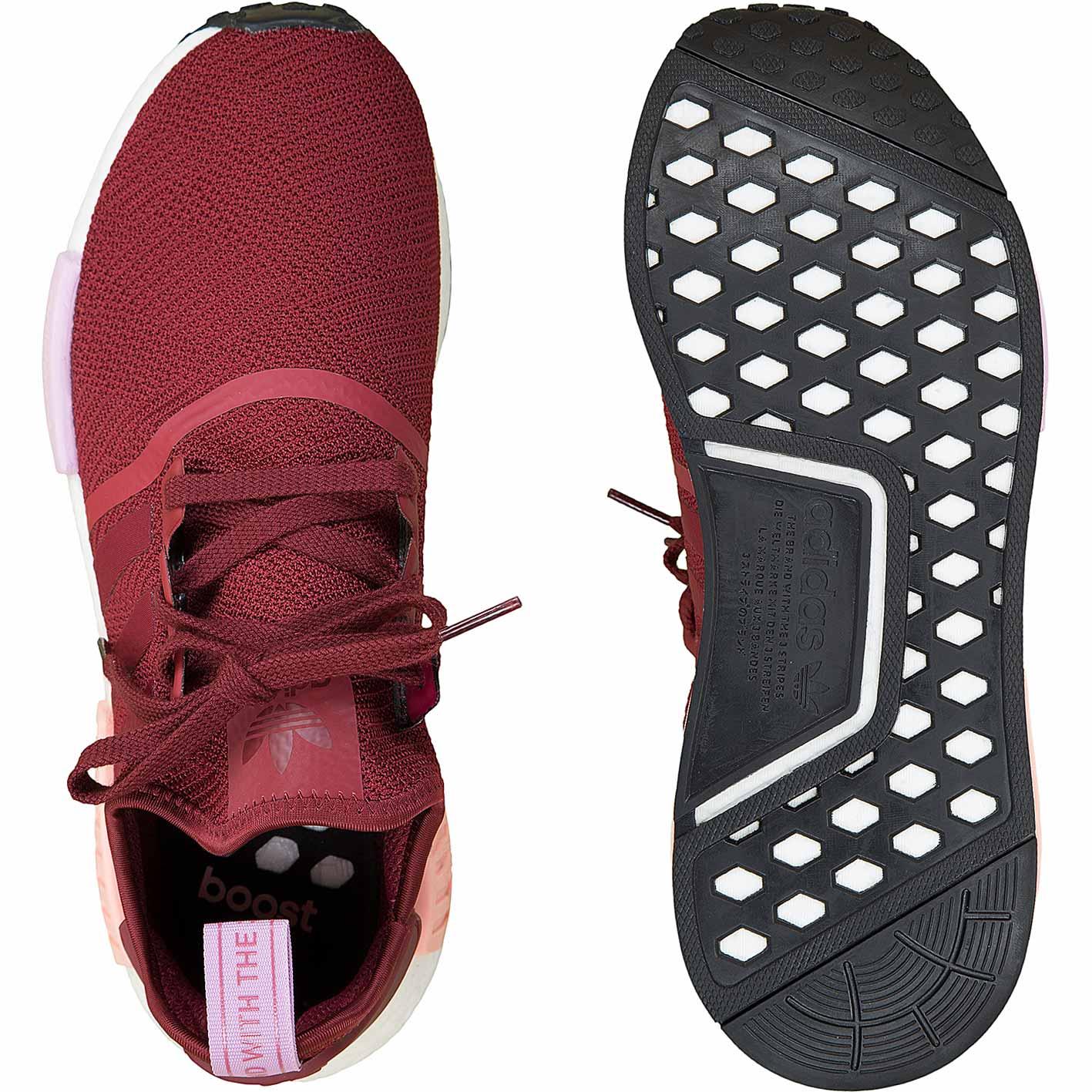 Adidas Originals Damen Sneaker NMD R1 weinrot