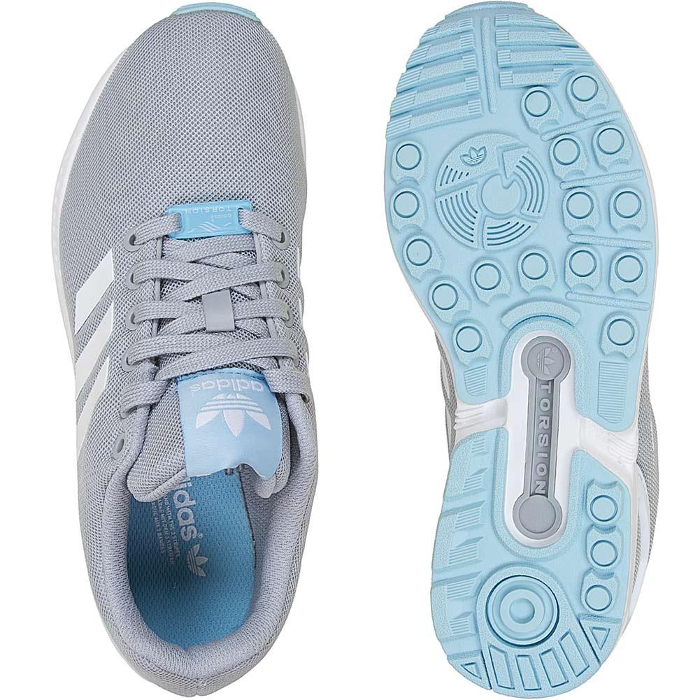 adidas schuhe damen zx flux blau