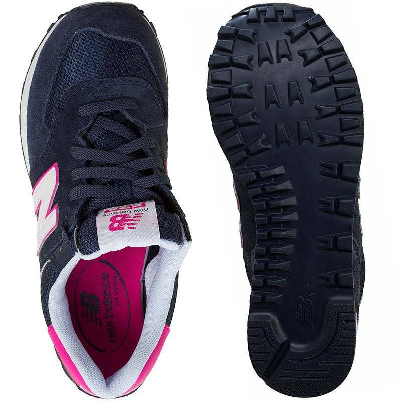 new balance wl574 damen navy